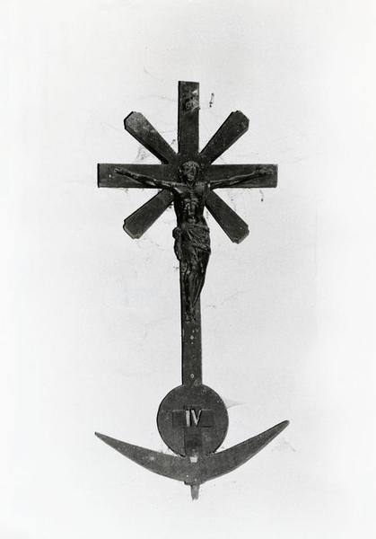 chemin de croix, détail de la quatrième station