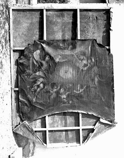 Peinture sur toile du maître-autel