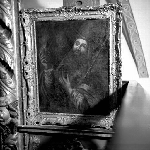 Peinture sur toile : Saint Augustin