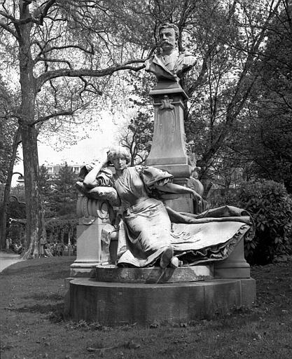 Monument à Guy de Maupassant