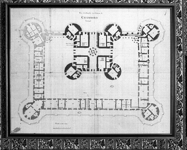 Plan des entresols du rez-de-chaussée