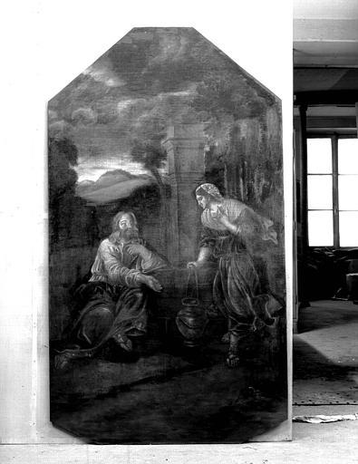 Peinture sur toile : Jésus au puits de Jacob