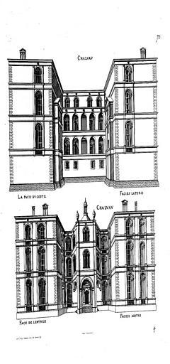 Château de Saint-Ange ou de Challeau