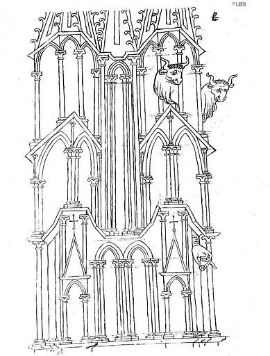 Dessin d'une tour