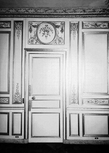 Petite salle à manger du 1e étage : Porte