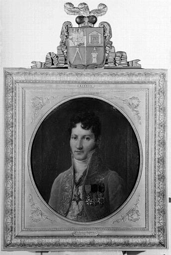 Peinture sur toile : Portrait du Baron de Marinville