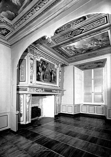 Chambre d'Esther vue de l'alcôve