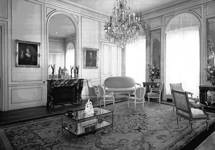 Deuxième grand salon