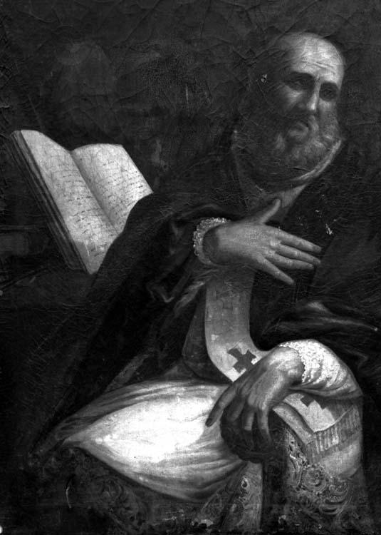 Peinture sur toile : Pères de l'Eglise (1)
