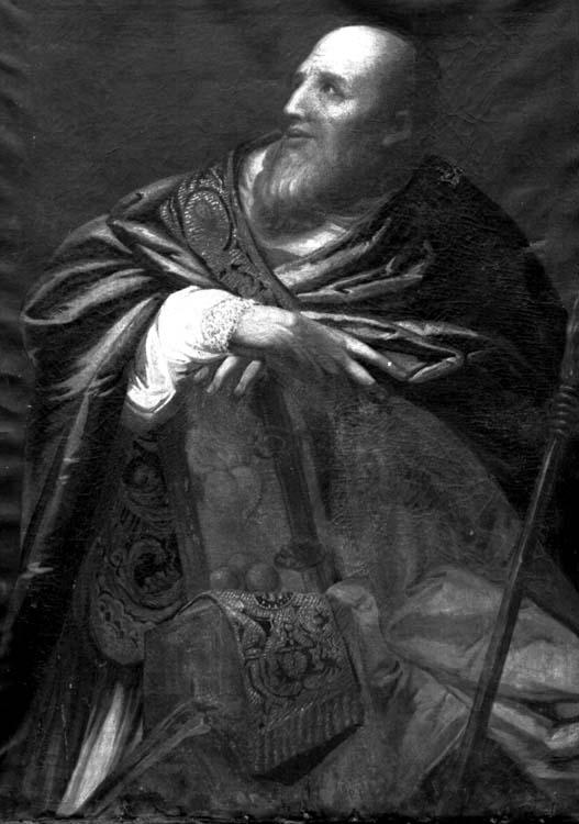 Peinture sur toile : Pères de l'Eglise (2)