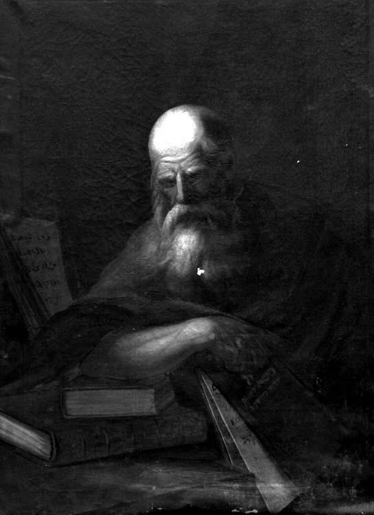 Peinture sur toile : Pères de l'Eglise (3)