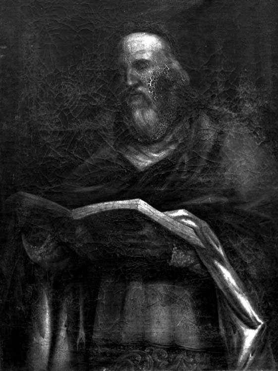 Peinture sur toile : Pères de l'Eglise (4)