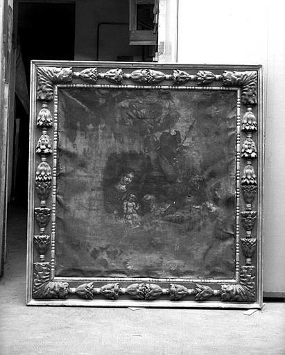 Panneau peint : Adoration des Mages