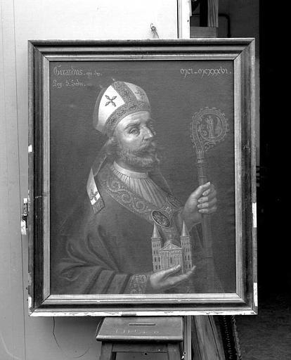 Peinture sur toile (sacristie des chanoines) : Girard II