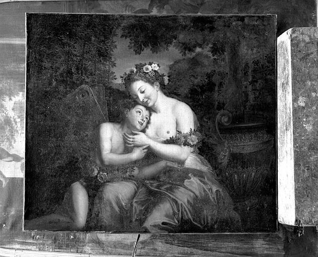 Peinture sur toile : Zéphir et Flore