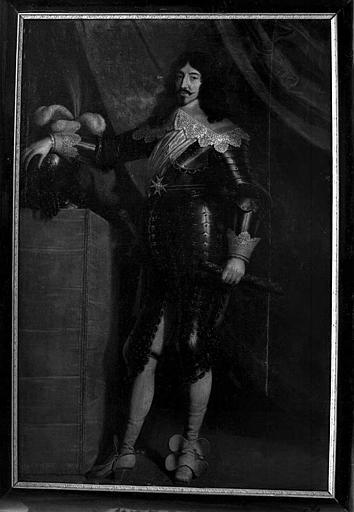 Peinture sur toile : Portrait de Louis XIII