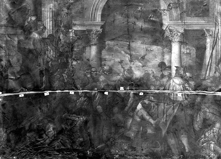 Peinture sur toile : Le Martyre de saint Vincent