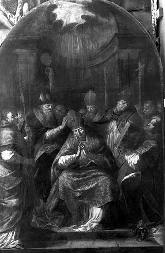 Peinture sur toile : Le Sacre de saint Nicolas