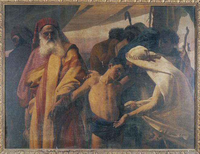 tableau : Joseph vendu par ses frères