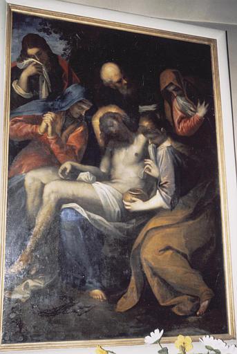 Tableau : Déploration sur le Christ mort (la)