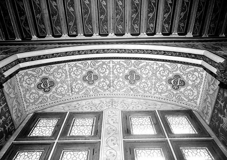 Donjon : Fenêtre de l'antichambre de l'Empereur