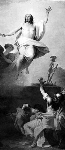 Peinture sur toile : La Resurrection du Christ