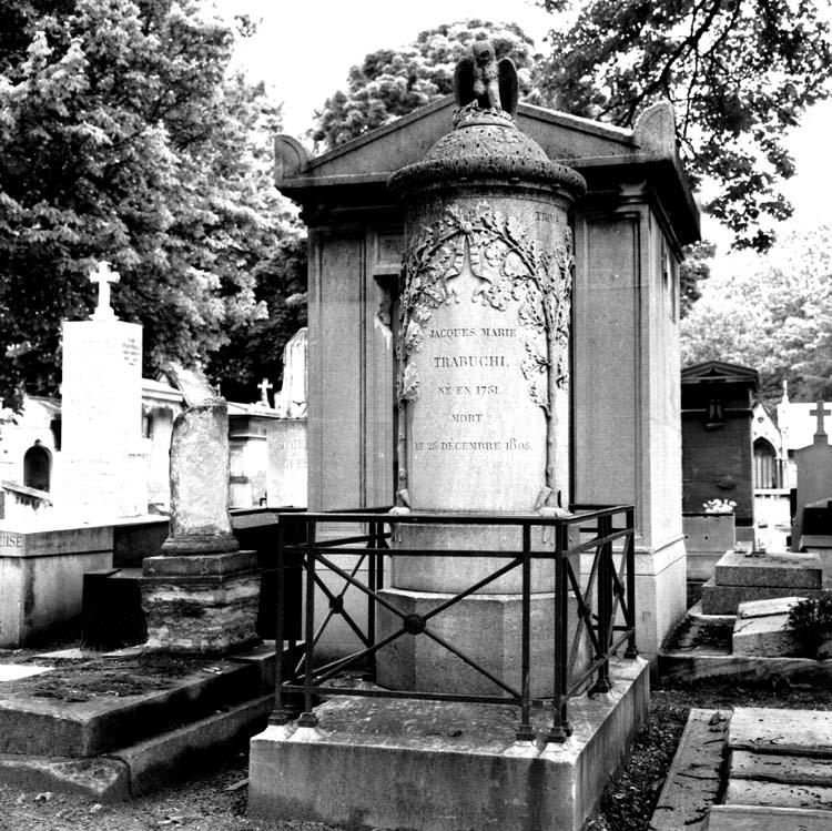 Tombe de Jacques-Marie Trabuchi 1751-1805