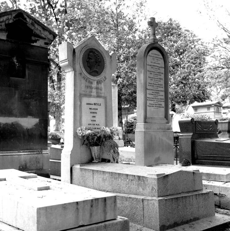 Tombe de Stendhal