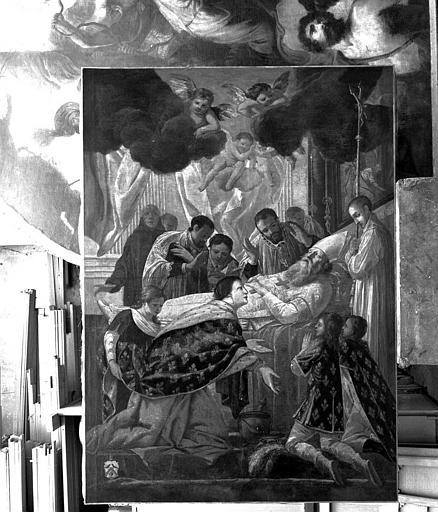 Tableau : La Mort de saint Eloi