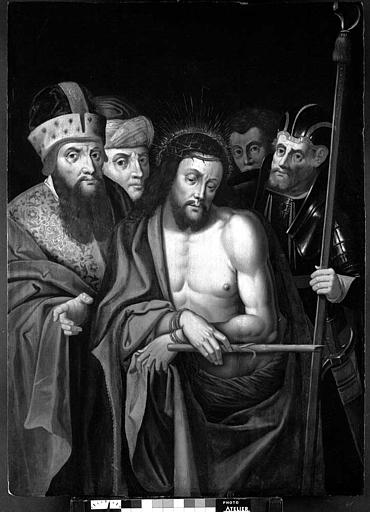Panneau peint : Ecce Homo