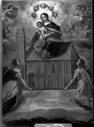 Peinture sur toile : Vierge de Lorette