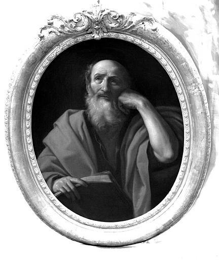 Peinture sur toile : Saint personnage