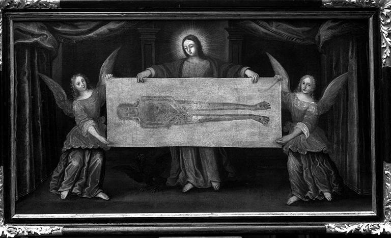Peinture sur toile : Saint Suaire de Besançon
