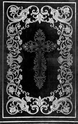 Missel romain de Venise ayant appartenu au Comte de Chambord : Plat de reliure