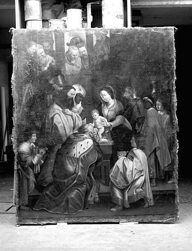Peinture sur toile : Adoration des mages