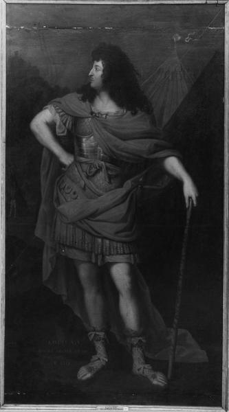 Tableau : Portrait de Louis XIV en impérator