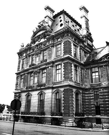 Pavillon de Flore côté Seine