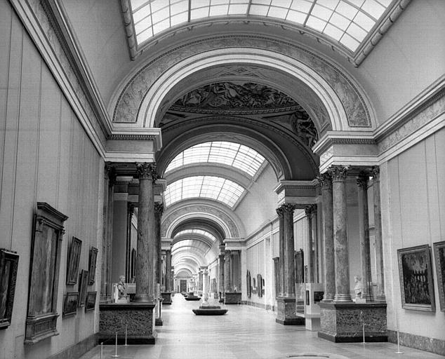 Vue intérieure de la Grande Galerie