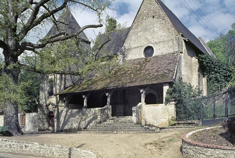 Porche et clocher