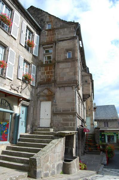 Vue générale de la façade ouest