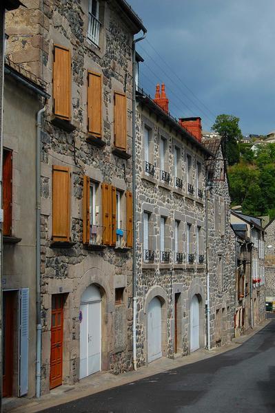 Vue générale des façades