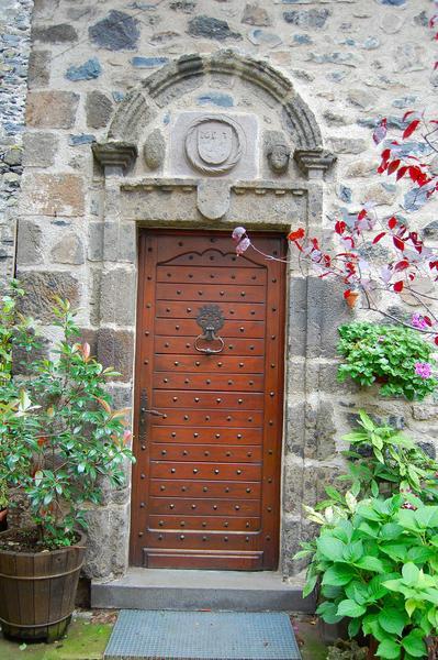 vue générale de la porte d'entrée