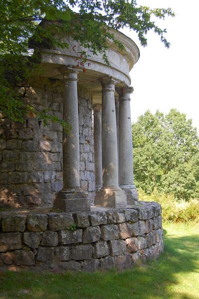 vue partielle du temple de la philosophie