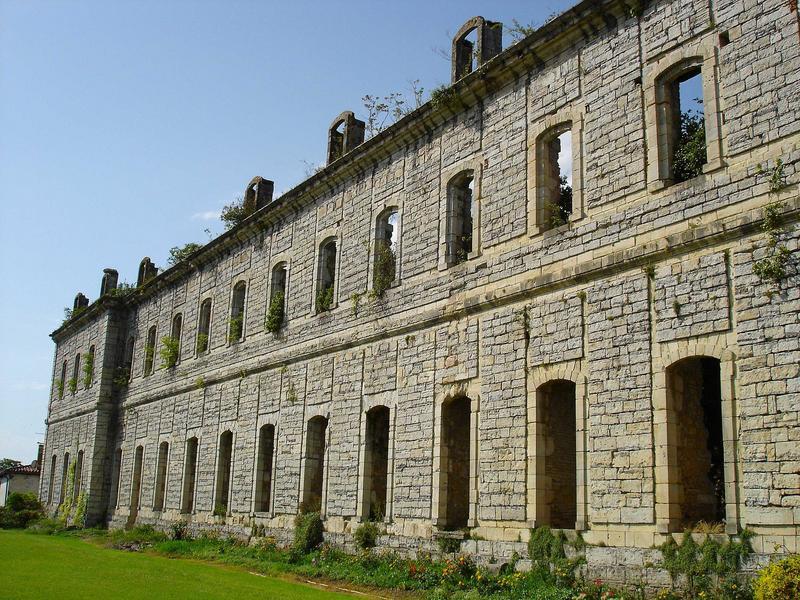 vue partielle des bâtiments conventuels