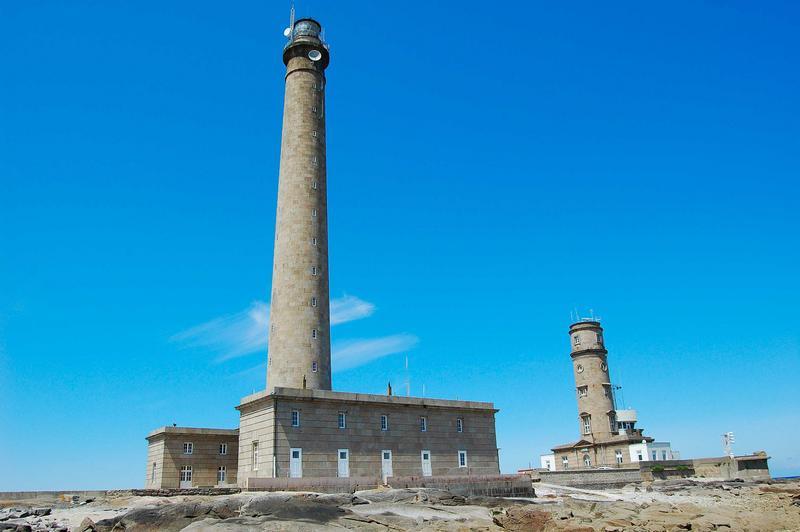 Phare de Gatteville et ancien phare, sémaphore de Barfleur