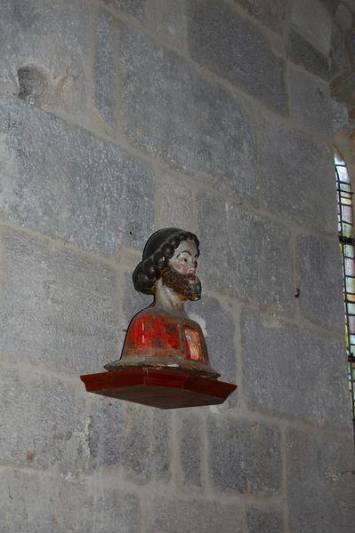Bustes-reliquaires : Saint Fabien et Saint Sébastien