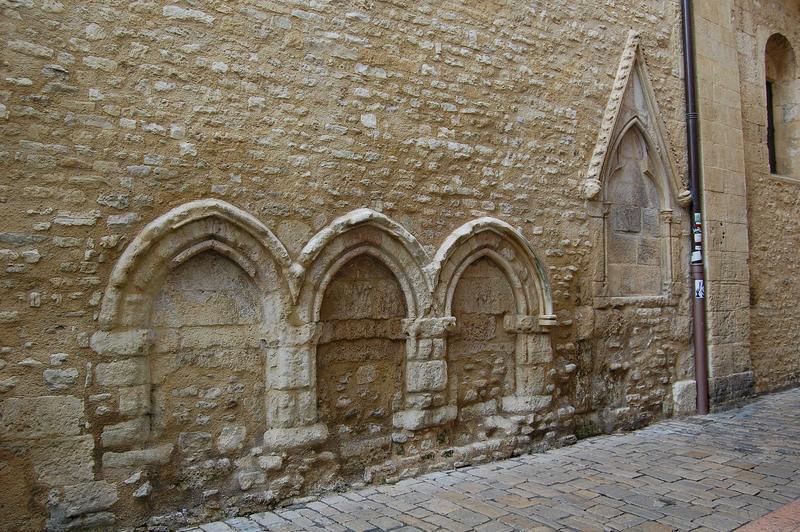vue partielle du mur sud