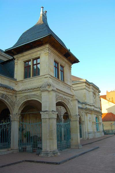 vue partielle de la façade sud