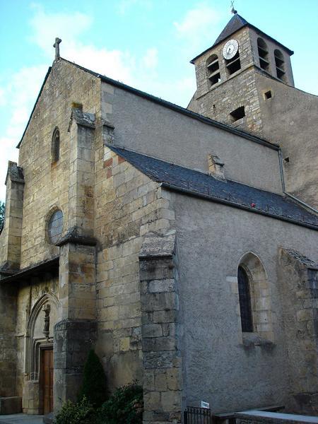 vue partielle, façades sud et ouest