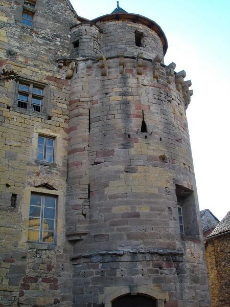 vue partielle de la tour nord-est